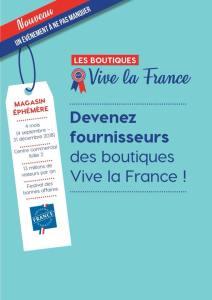 Boutiques Vive la France